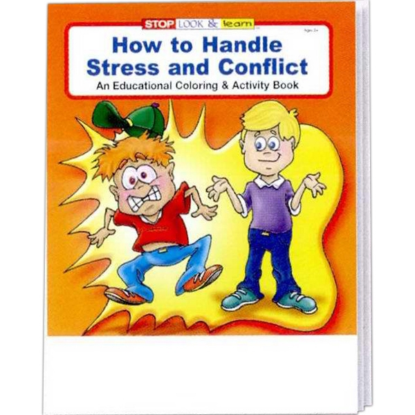 How To Handle Stress And Conflict Coloring And Activity Book Photo