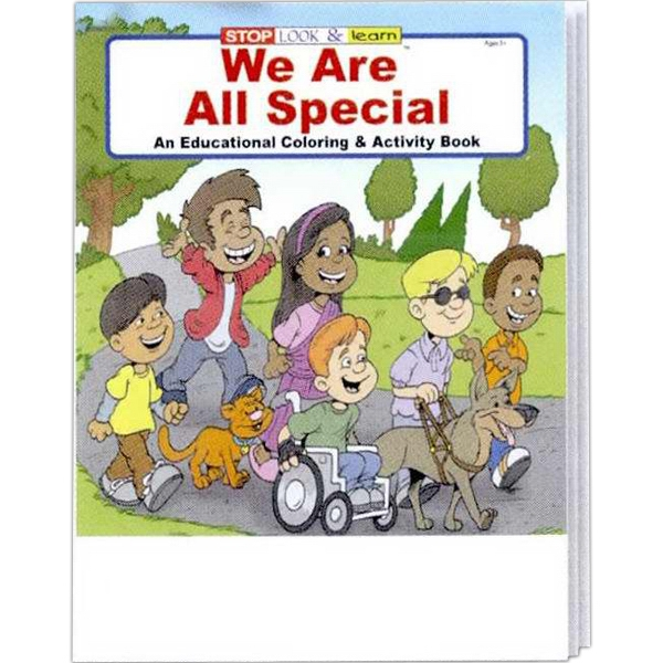 Coloring Book - We Are All Special Photo