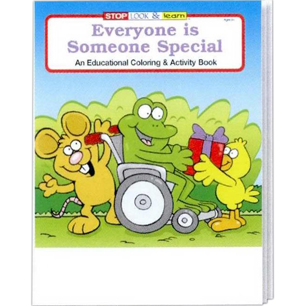 Everyone Is Someone Special Educational Coloring And Activity Book Photo
