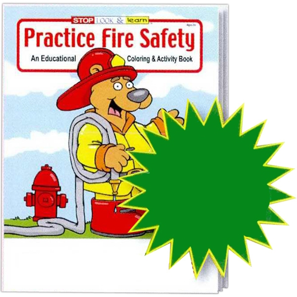 Practice Fire Safety Educational Coloring And Activity Book Photo