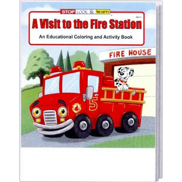 A Visit To The Fire Station Educational Coloring And Activity Book Photo