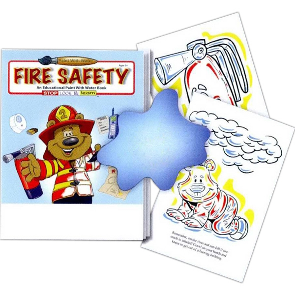 Fire Safety Paint With Water Book Photo