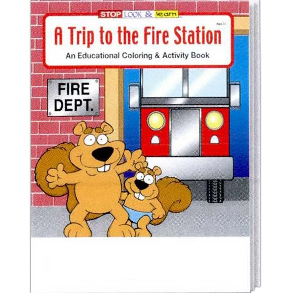 A Trip To The Fire Station Educational Coloring And Activity Book Photo