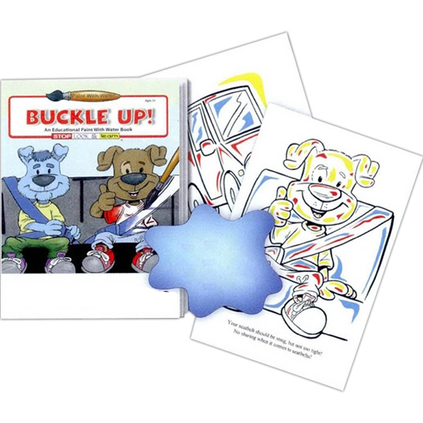Buckle Up! An Educational Paint With Water Book Photo