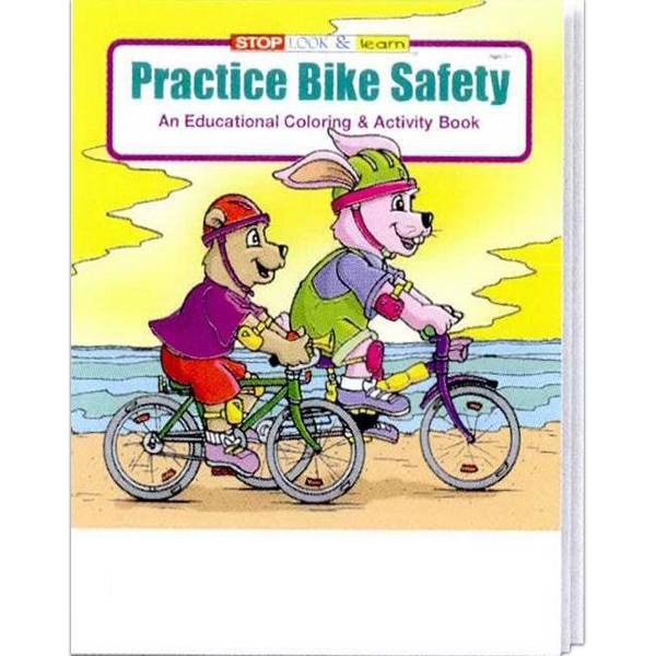 Practice Bike Safety Educational Coloring And Activity Book Photo
