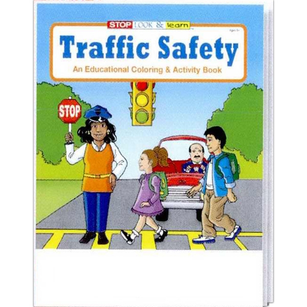 Traffic Safety Educational Coloring And Activity Book Photo
