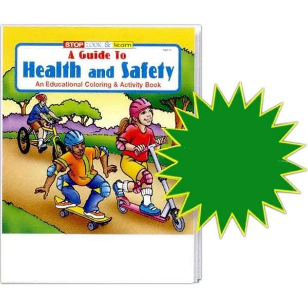 A Guide To Health And Safety Coloring And Activity Book Photo
