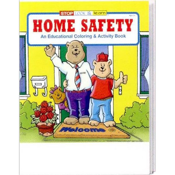 Home Safety Educational Coloring And Activity Book Photo