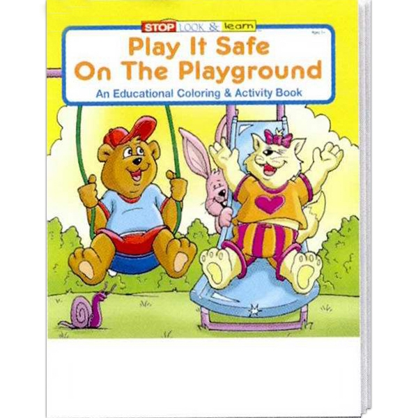 Play It Safe On The Playground Coloring And Activity Book Photo