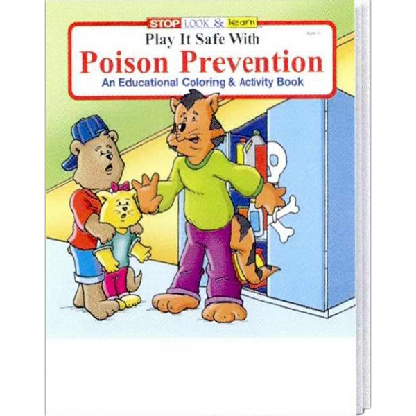 Play It Safe With Poison Prevention Coloring And Activity Book Photo