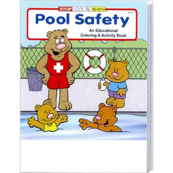 Pool Safety Educational Coloring And Activity Book Photo