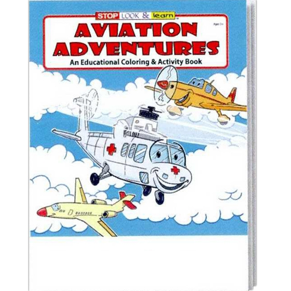 Aviation Adventures Educational Coloring And Activity Book Photo