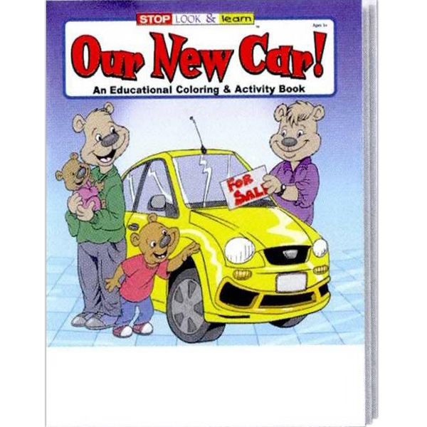 Our New Car Educational Coloring And Activity Book Photo