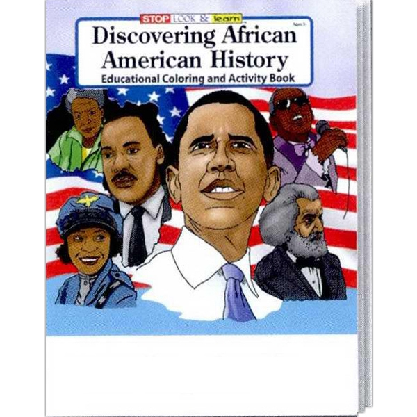 Discovering African American History Coloring And Activity Book Photo