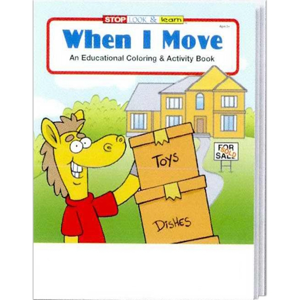 When I Move Everyday Coloring And Activity Book Photo