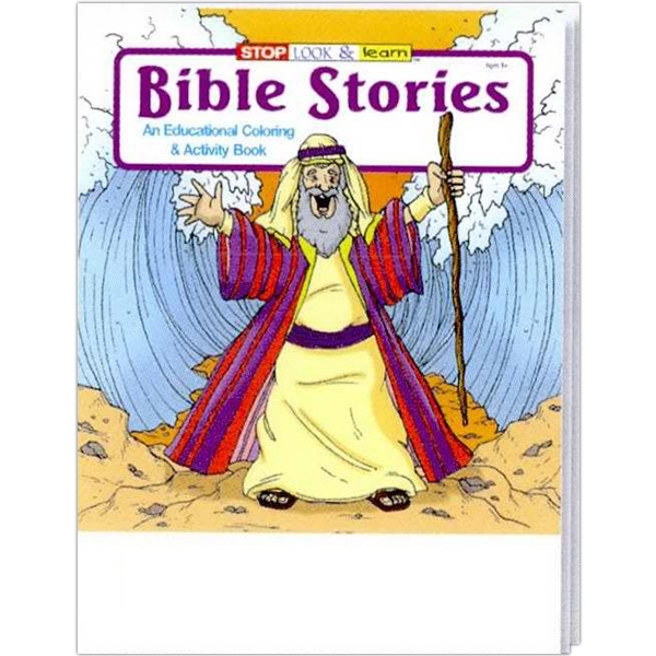 Bible Stories Coloring And Activity Book Photo