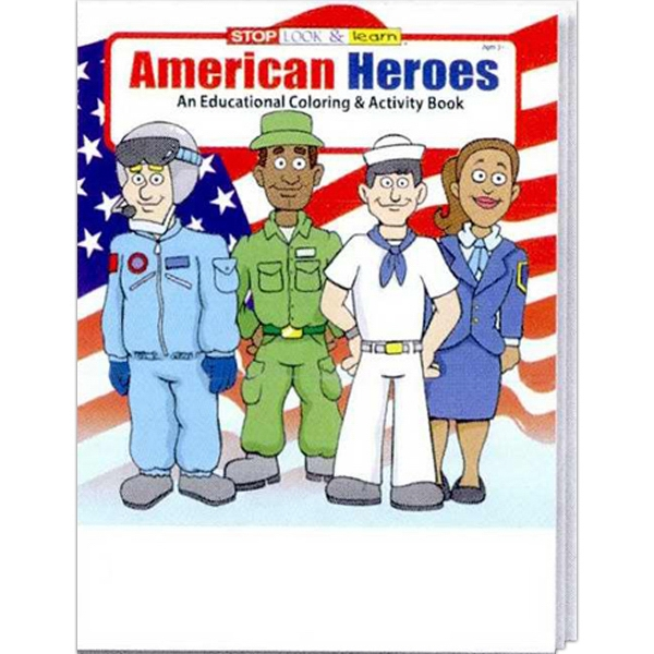 American Heroes Everyday Coloring And Activity Book Photo