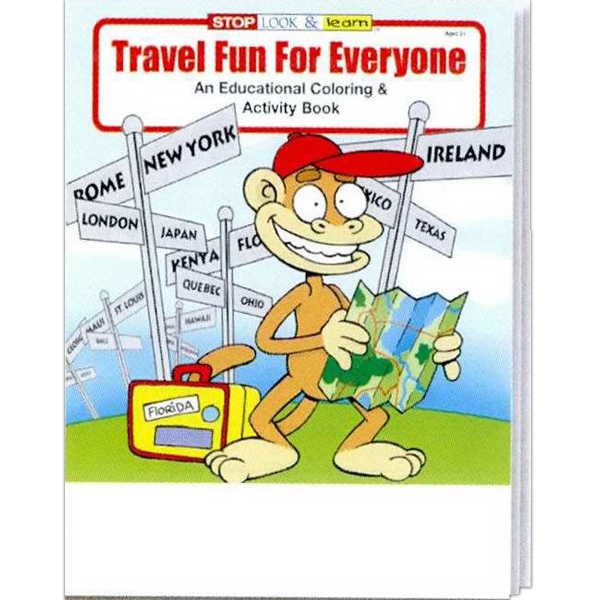 Travel Fun For Everyone Everyday Coloring And Activity Book Photo