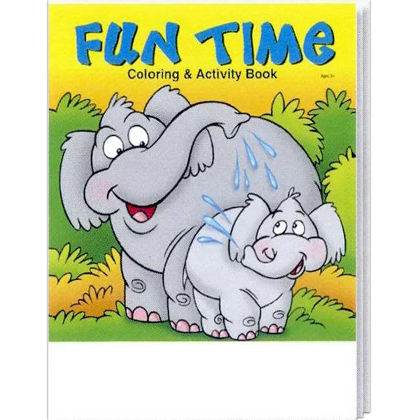 Fun Time Everyday Coloring And Activity Book Photo