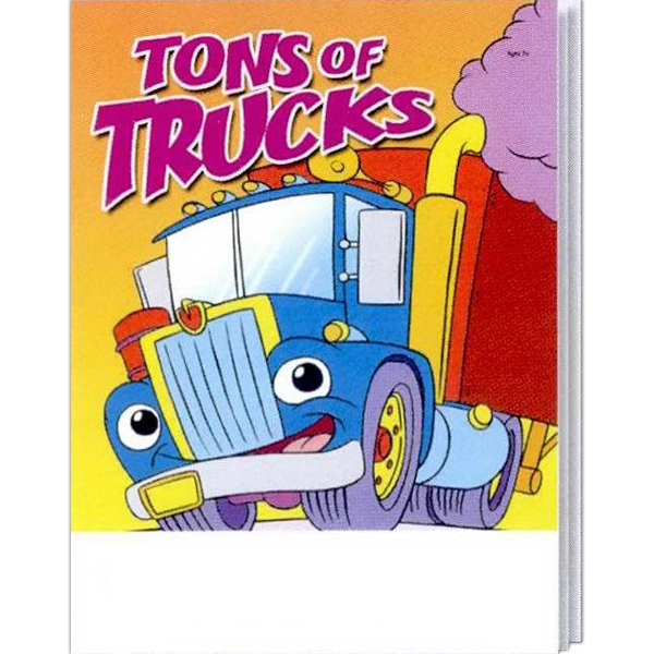 Tons Of Trucks Everyday Coloring And Activity Book Photo