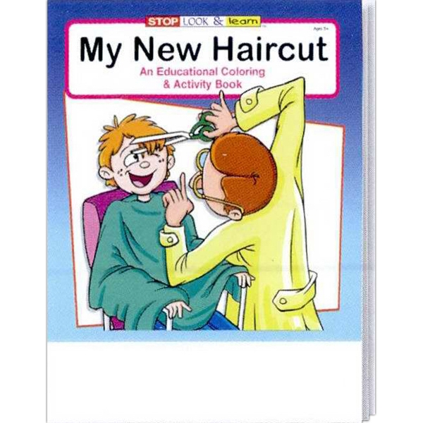My New Haircut Everyday Coloring And Activity Book Photo