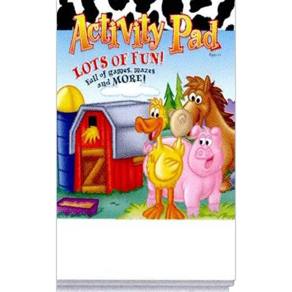 Lots Of Fun! Activity Pad With Games, Mazes And More! Photo