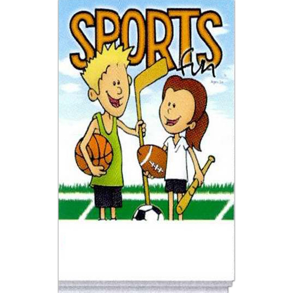 Sports Fun Activity Pad With Games And Activities Photo