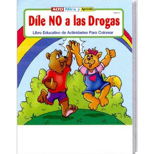 Stay Drug Free Spanish Coloring And Activity Book Photo