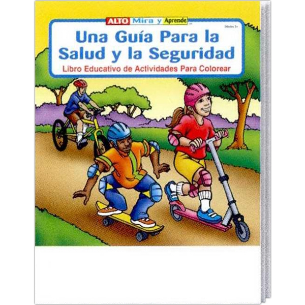 A Guide To Health And Safety Spanish Coloring And Activity Book Fun Pack Photo
