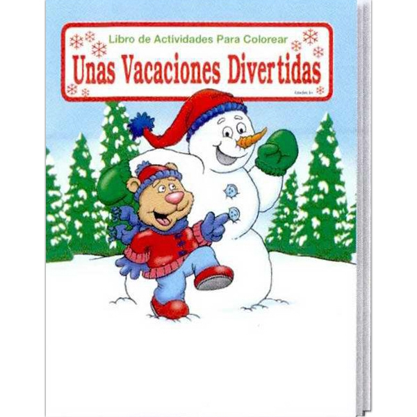 Holiday Fun Spanish Coloring And Activity Book Photo