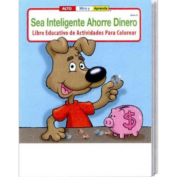 Be Smart, Save Money Spanish Coloring And Activity Book Photo