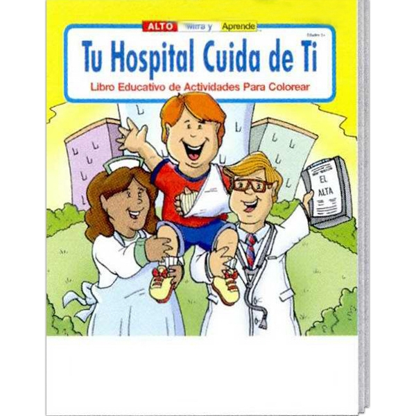 Coloring Book - Your Hospital Cares About You Spanish Photo
