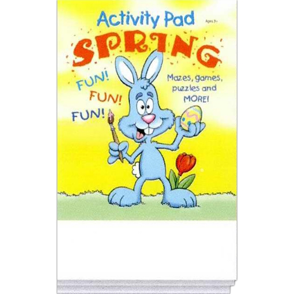 Spring Activity Pad Fun Pack With Mazes, Games, Puzzles And More! Photo