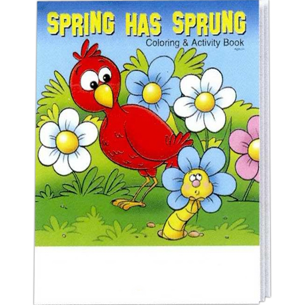 Spring Has Sprung Coloring And Activity Book Photo