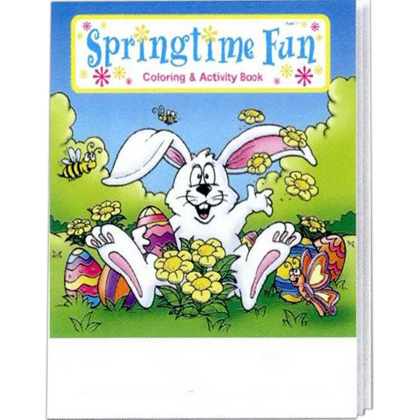 Springtime Fun Coloring And Activity Book Photo