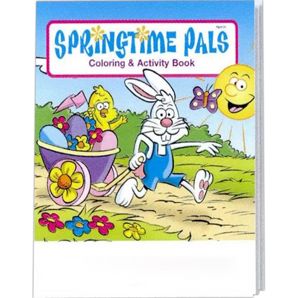 Springtime Pals Coloring And Activity Book Photo