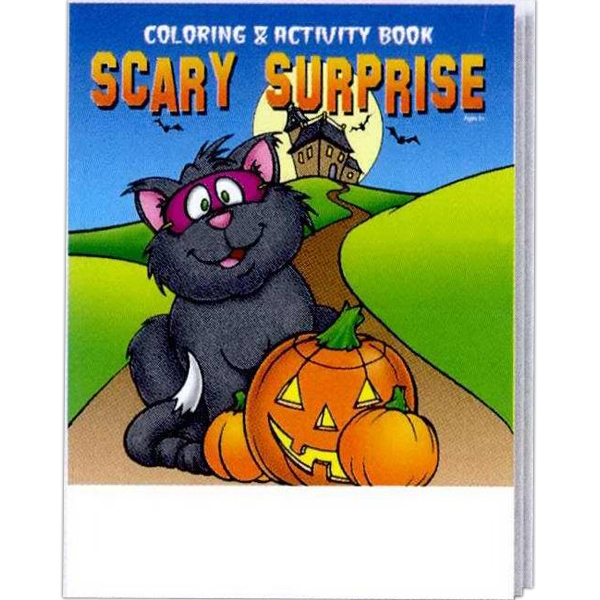 Scary Surprise Halloween Coloring And Activity Book Photo