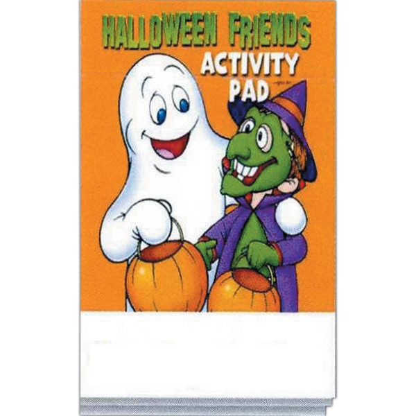 Halloween Friends Activity Pad Fun Pack With A 4-pack Of Unimprinted Crayons Photo