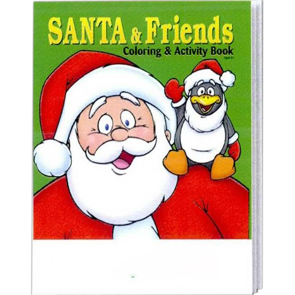 Santa And Friends Holiday Coloring And Activity Book Photo