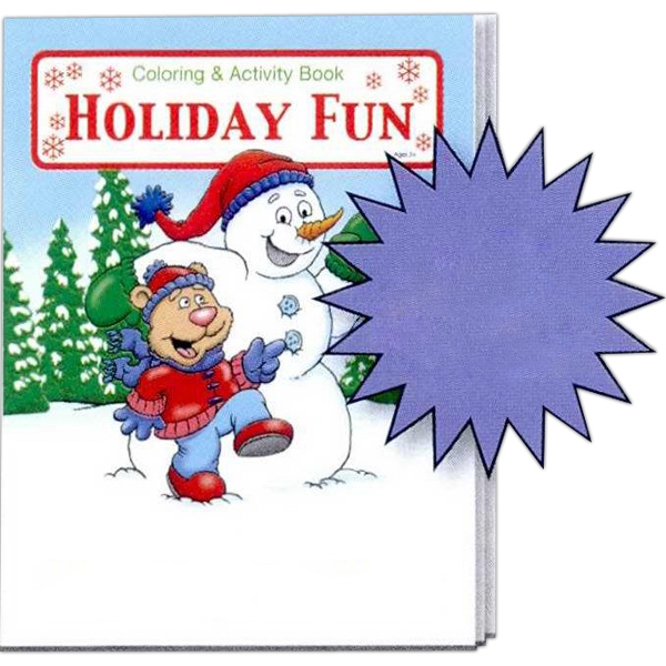 Holiday Fun Coloring And Activity Book Photo