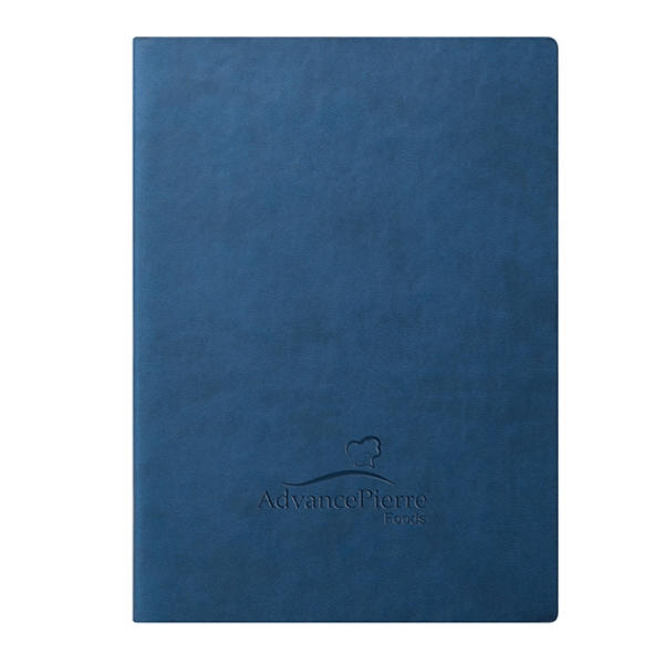 Folk - Journal - Blue. The Go-everywhere Journal. Soft. Clean. Comfortable Photo