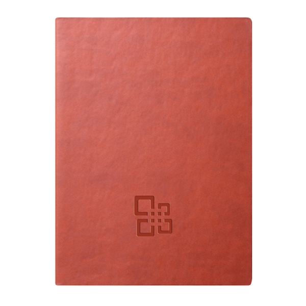 Folk - Journal - Orange. The Go-everywhere Journal. Soft. Clean. Comfortable Photo