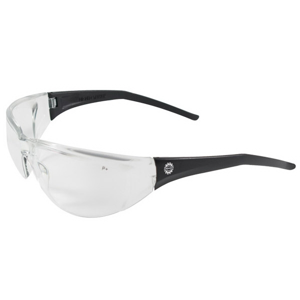 Tranzmission - Clear Lens - Safety Glasses With Single Curved Lens Design Photo