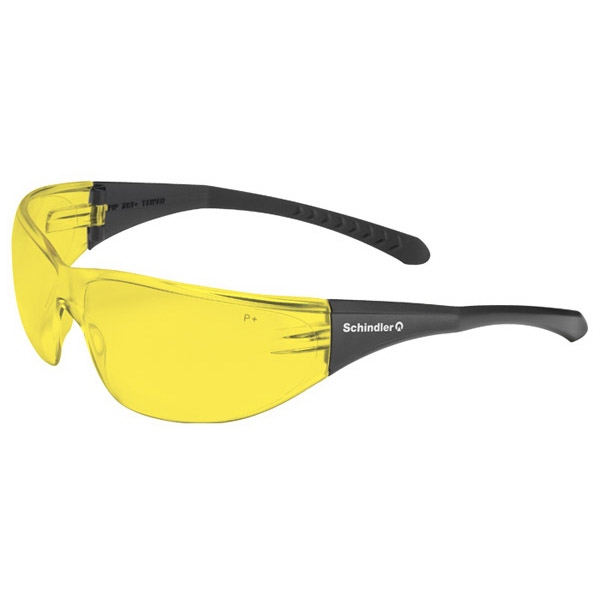 Direct Flex - Amber Lens - Safety Glasses With A Rimless Design Photo