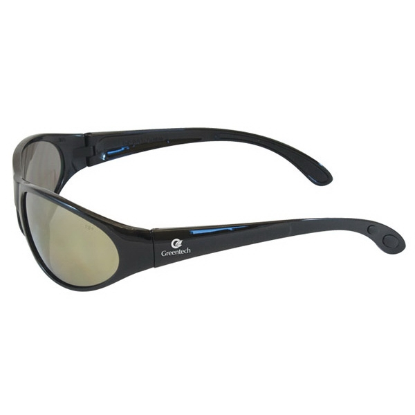 Pirana - Gold Mirror Lens - Safety Glasses With A Sporty Frame, Built For Comfort Photo