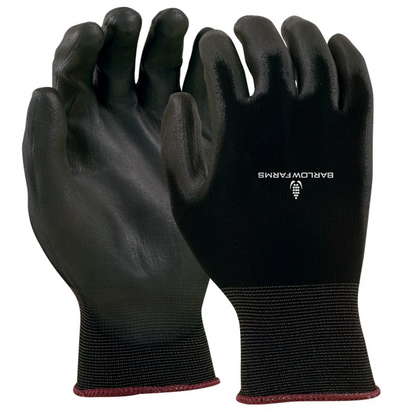 Black Seamless Knit Glove Photo