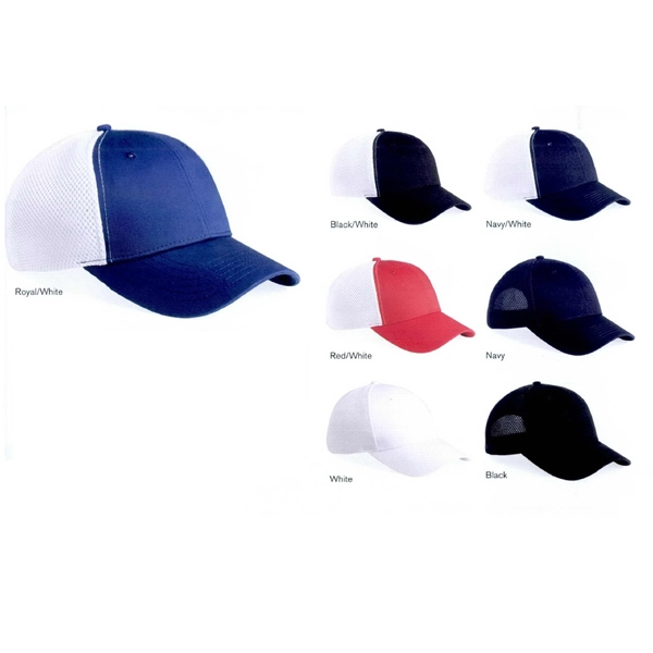 Sportsman (tm) - Spacer Mesh Cap. Blank Product Photo