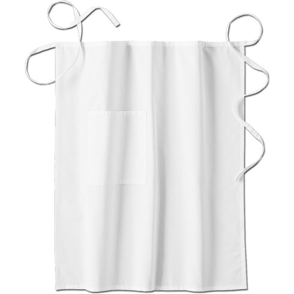 White Swan - Sa18024 White Swan Men's Long Bistro Apron - 2 Colors Available Photo