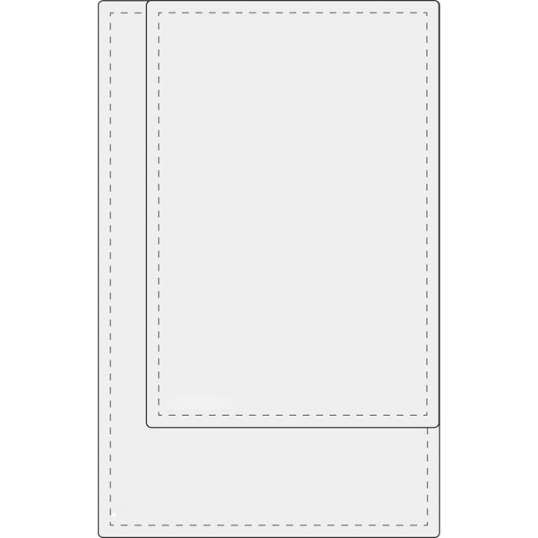 "Jumbo Laminate Pouch, 0.7 mil - Clear jumbo laminate pouch for 2 3/4"" x 4 1/8"" card blank."