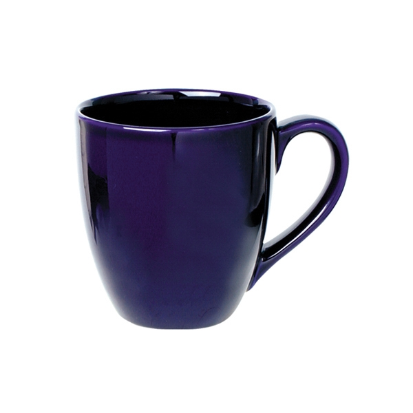 Bistro - Cobalt Blue - Ceramic Bistro Mug, 14 Oz Photo